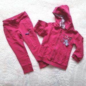 2T KANZ Girls Sweatshirt Sweatpants Set